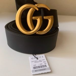 eNew Gucci Belt Åüthentïć Double G Marmot